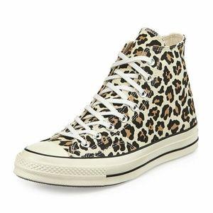 NEW Converse Cheetah Animal Chuck Taylor Shoes